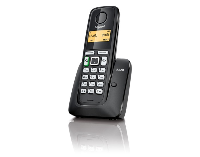 TELEF. INALAMBRICO DECT DIGITAL GIGASET A220 NEGRO PGK02