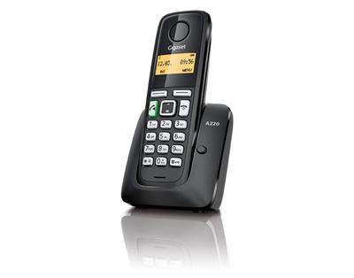 Gigaset A220 - teléfono inalámbrico con ID de llamadas