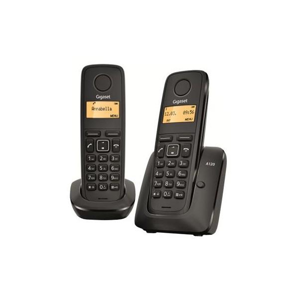 TELEF. INALAMBRICO DECT DIGITAL GIGASET A120 DUO
