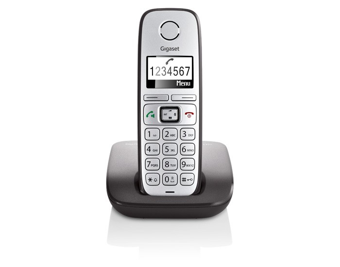 TELEF. INALAMBRICO DECT DIGITAL GIGASET E310 GRAY