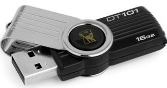 PENDRIVE 16GB USB2.0 KINGSTON DT 101 G2 NEGRO