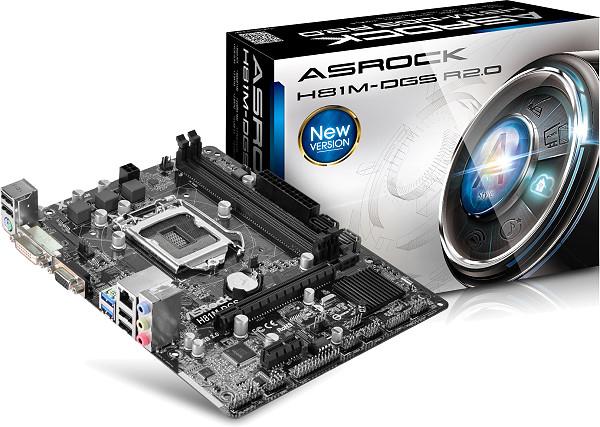 PB ASROCK 1150 H81M-DGS R2.0 MICRO ATX