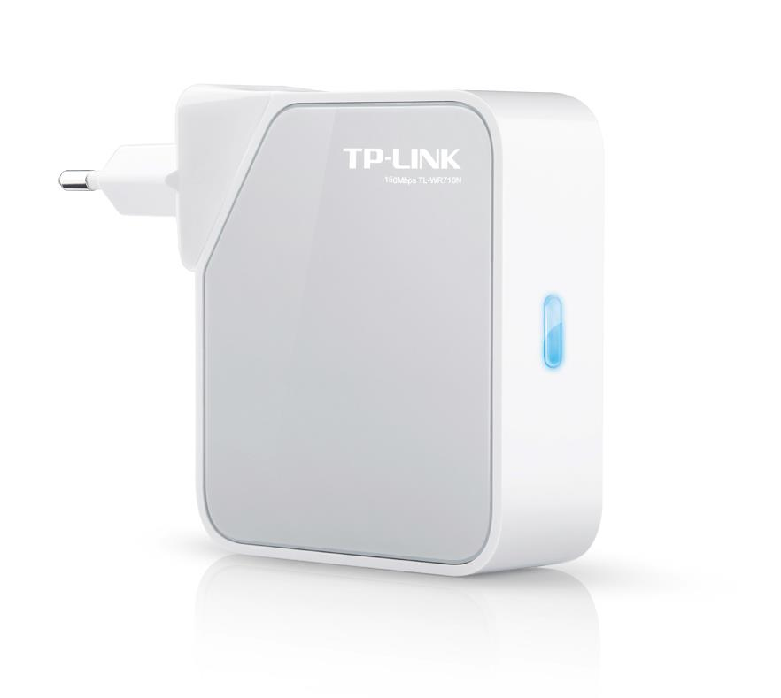 WIRELESS ROUTER TP-LINK TL-WR710N
