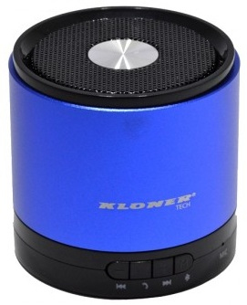 ALTAVOCES 1.0 KL-TECH KAB1 BLUETOOTH AZUL