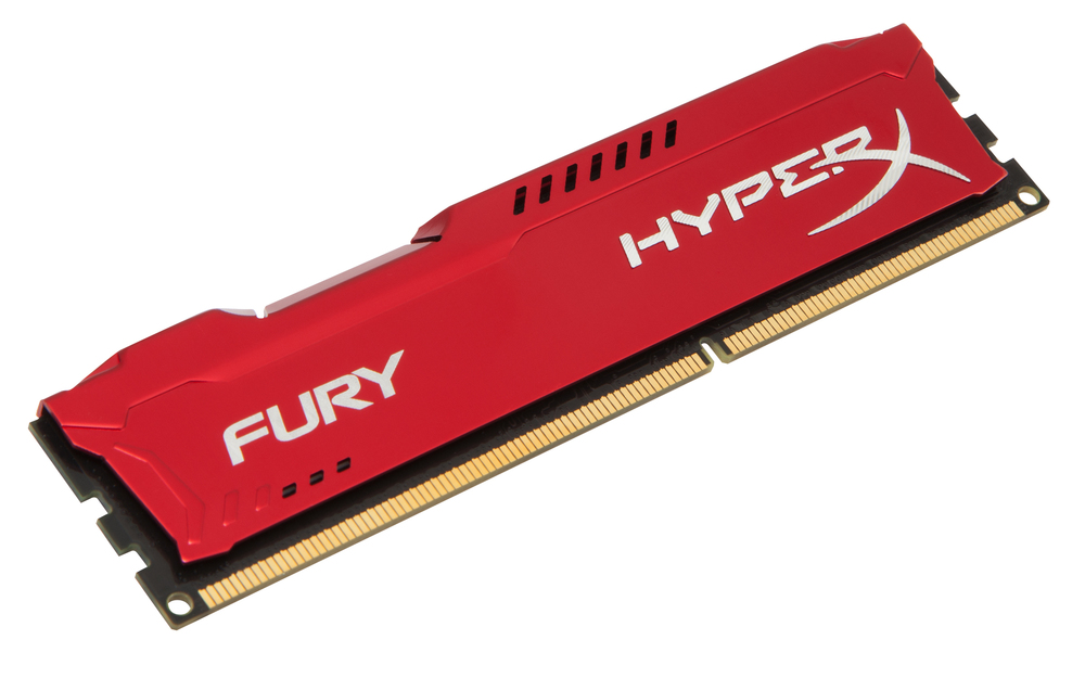 MODULO DDR3 8GB PC1600 KINGSTON HYPERX FURY RED