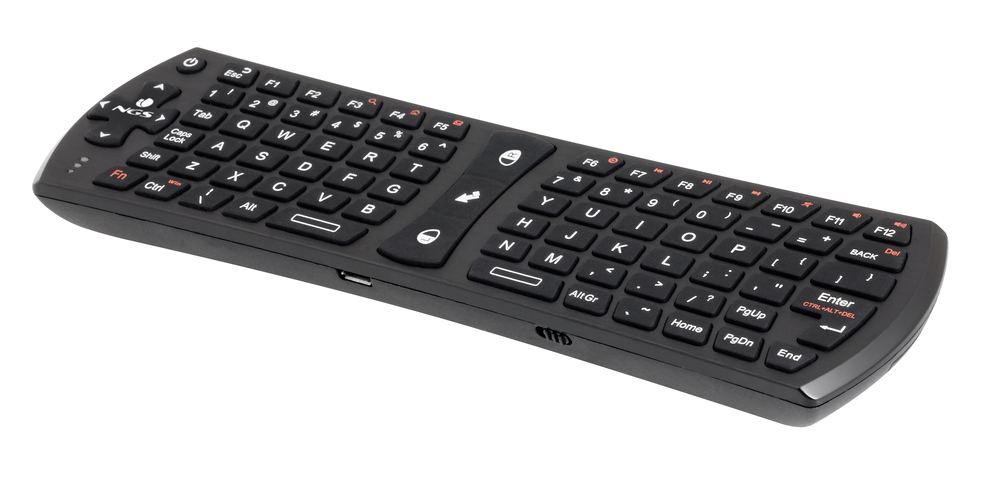 TECLADO NGS MINI WIRELESS  NEGRO TV-HUNTER