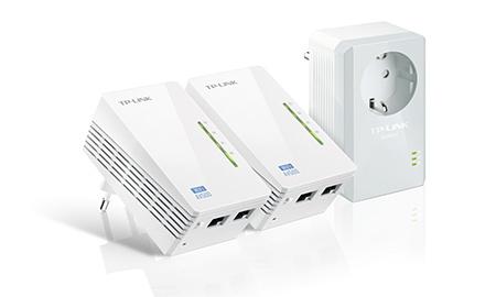 ADAPTADOR PLC TP-LINK AV500 TL-WPA4226T KIT 3 UDS