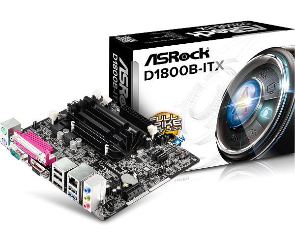PB ASROCK D1800B-ITX CPU INTEL DUAL CORE