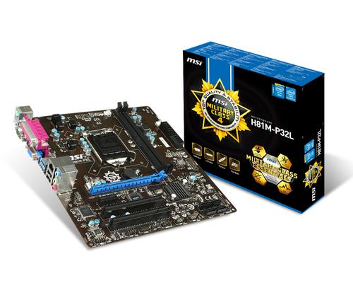 PB MSI 1150 H81M-P32L(u.S.SAT.R.GBL.DDR3)