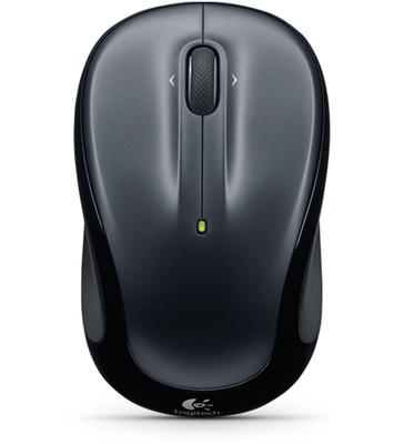 Logitech M325 - Color Collection Limited Edition - ratón - 2.4 GHz - gris claro