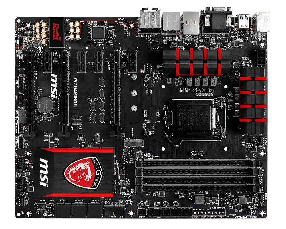 PB MSI 1150 Z97 GAMING 5(S.SAT.R.GBL.DDR3)