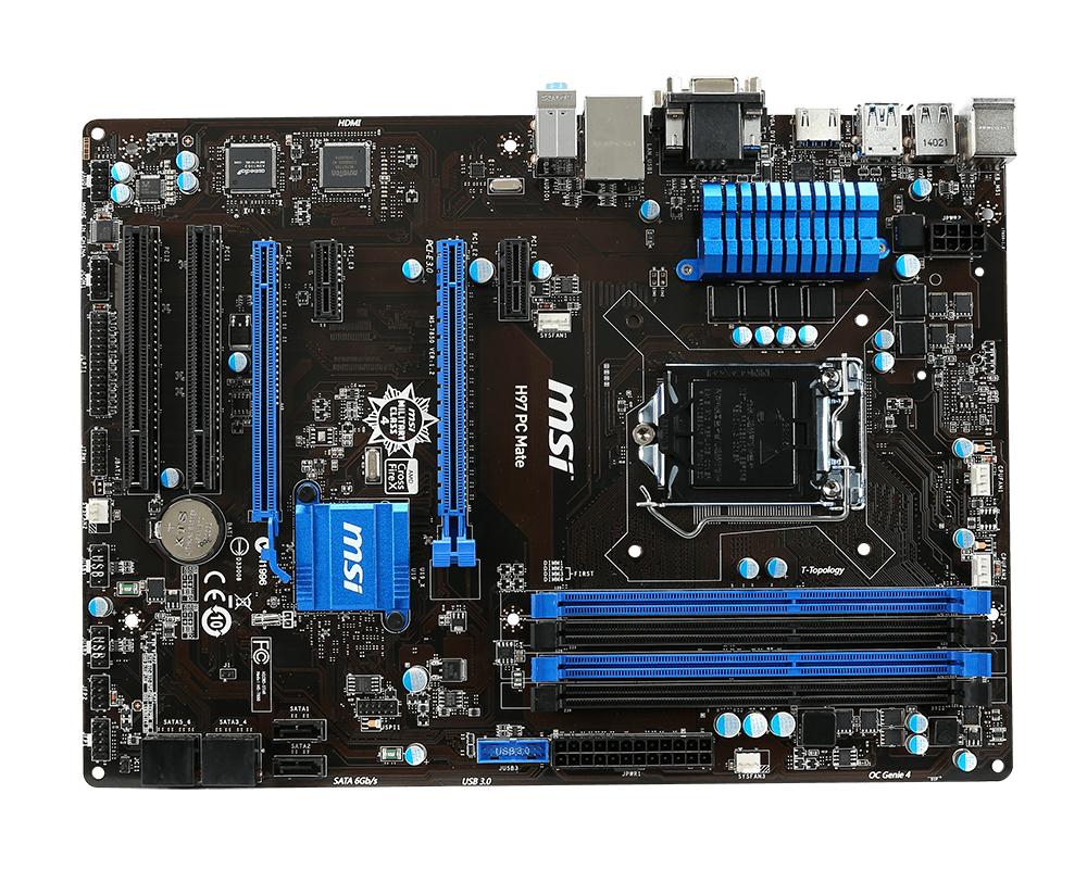 PB MSI 1150 H97 PC MATE(S.SAT.R.GBL.DDR3)