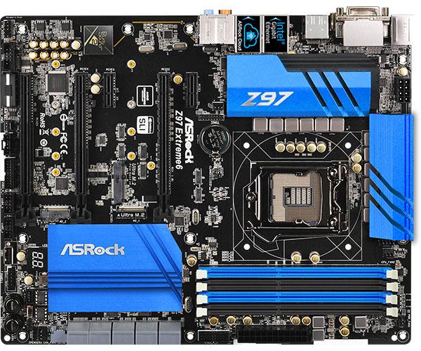 PB ASROCK 1150 Z97 EXTREME6 ATX