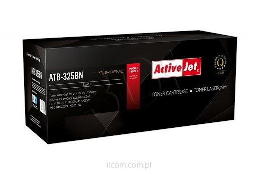 TONER COMPATIBLE BROTHER TN-325BK ACTIVEJET