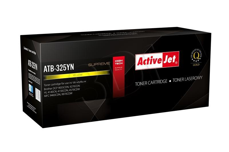 TONER COMPATIBLE BROTHER TN-325Y ACTIVEJET