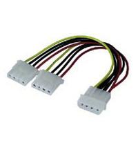 goobay cable de alimentación - 15 cm