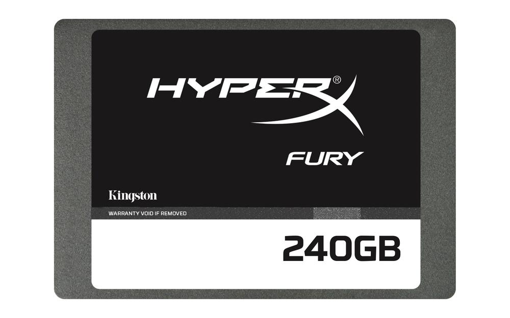 HD 2.5  SSD 240GB SATA3 KINGSTON HYPERX FURY
