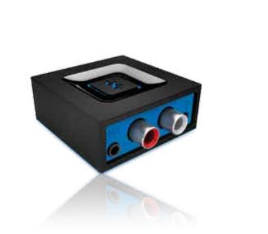 Logitech Bluetooth Audio Adapter - receptor de audio inalámbrico Bluetooth