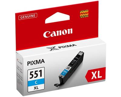 Canon CLI-551C XL - Alto rendimiento - cián - original - depósito de tinta