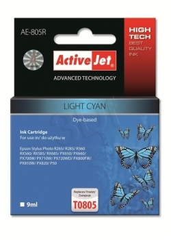 CARTUCHO COMP ACTIVEJET EPSON T0805 CYAN