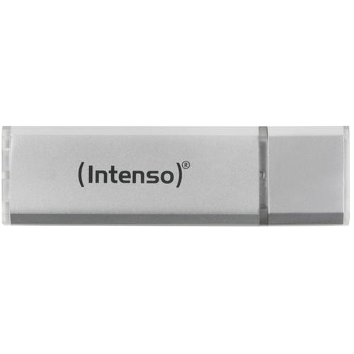 PENDRIVE 64GB USB2.0 INTENSO ALU LINE PLATA