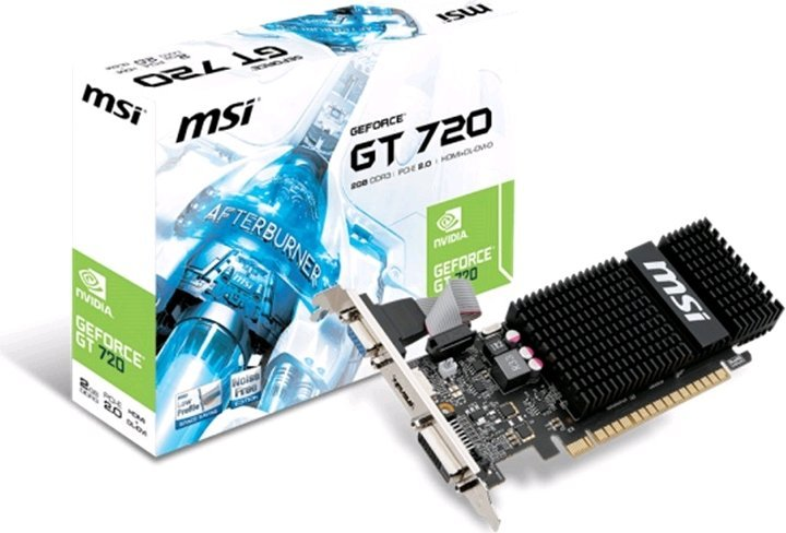 VGA MSI N720-2GD3HLP 2GB GDDR3