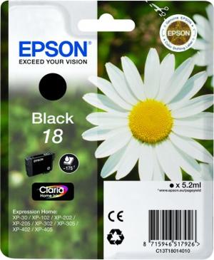 CARTUCHO ORIG EPSON T180140 NEGRO