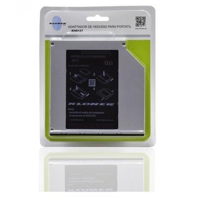 ADAPTADOR BAHIA RW PORTATIL A SSD 2.5 KLTECH 12.7m