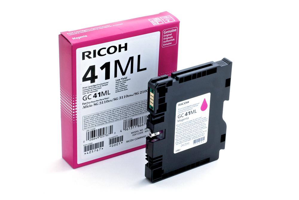 CARTUCHO ORIG RICOH GC-41ML MAGENTA