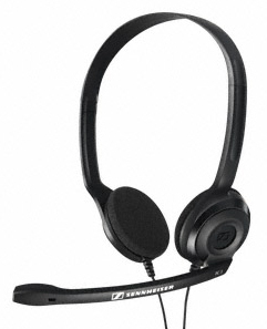 AURICULARES MICRO SENNHEISER PC 3 CHAT NEGRO