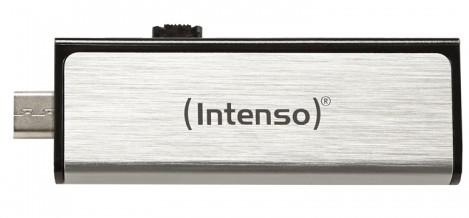 PENDRIVE 32GB USB2.0 INTENSO MOBILE LINE PLATA