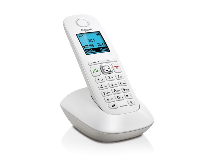 TELEF. INALAMBRICO DECT DIGITAL GIGASET A540 BLANC