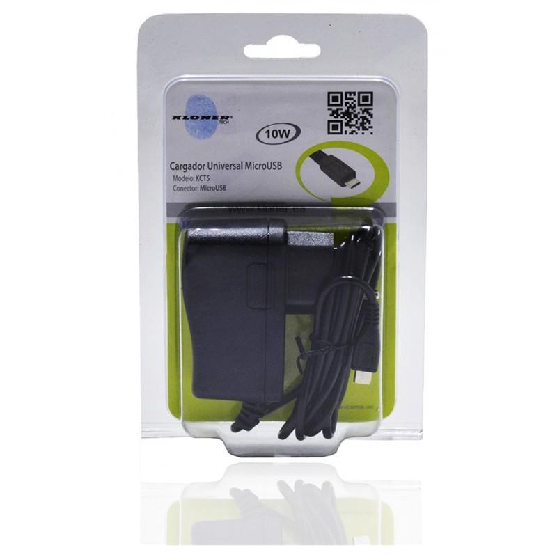 CARGADOR MICRO USB UNIVERSAL KL-TECH KCT5