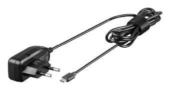 CARGADOR MICRO USB CASA GOOBAY 1A 5V NEGRO