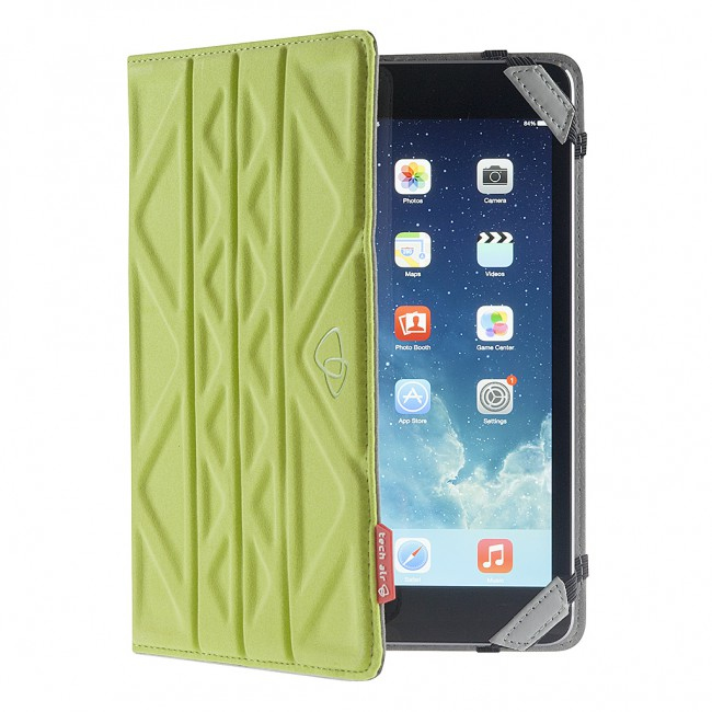 FUNDA TABLET 7  TECHAIR TAXUT020 VERDE/GRIS