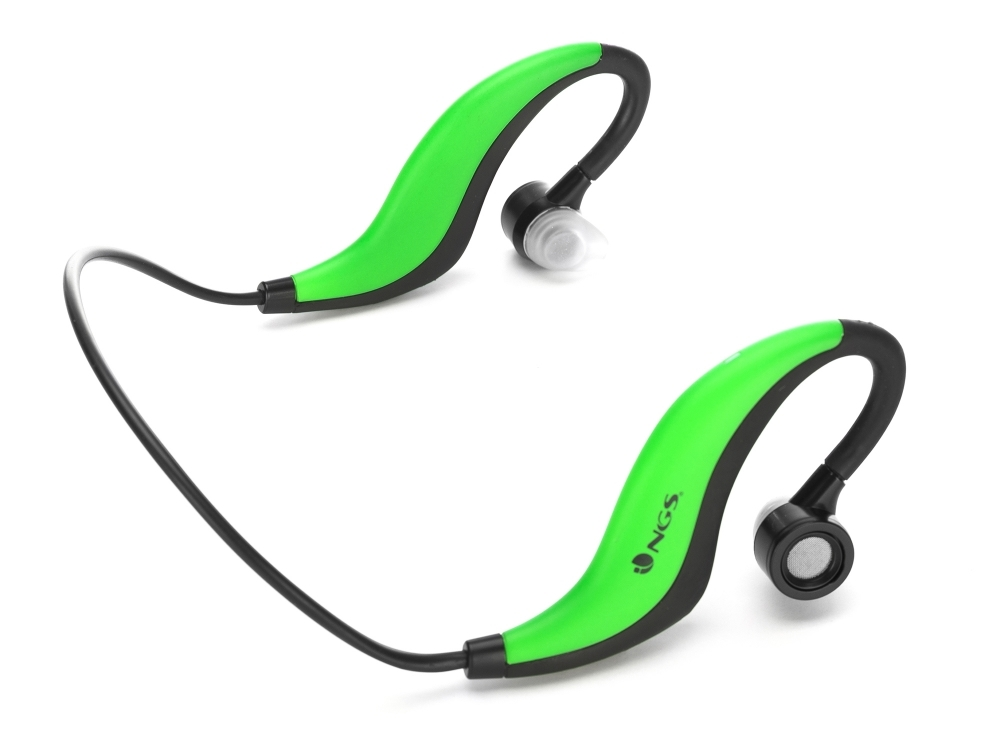 AURICULARES NGS GREEN ARTICA RUNNER BLUETOOTH