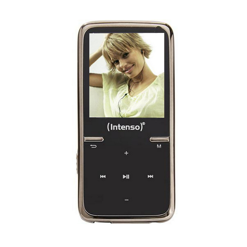 MP3 8GB INTENSO VIDEO SCOOTER NEGRO + AURICULAR
