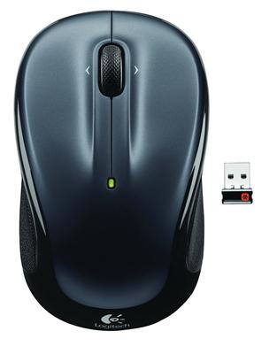Logitech M325 - Color Collection Limited Edition - ratón - 2.4 GHz - gris