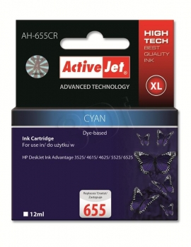 CARTUCHO COMP ACTIVEJET HP 655 XL CYAN