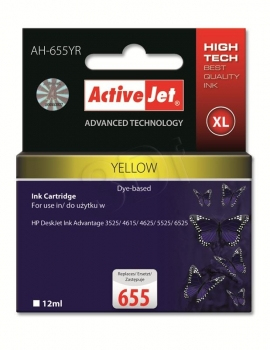 CARTUCHO COMP ACTIVEJET HP 655 XL AMARILLO