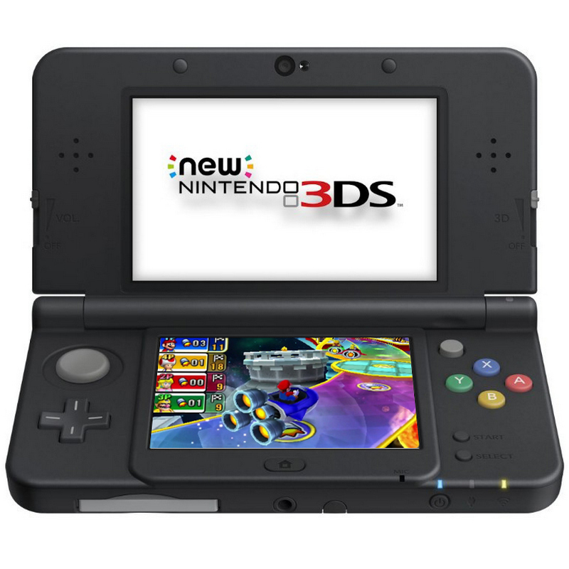 VIDEOCONSOLA NEW NINTENDO 3DS NEGRA