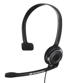 AURICULARES MICRO SENNHEISER PC 7 CHAT NEGRO