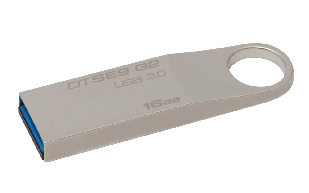 PENDRIVE 16GB USB3.0 KINGSTON DT SE9 G2 PLATA
