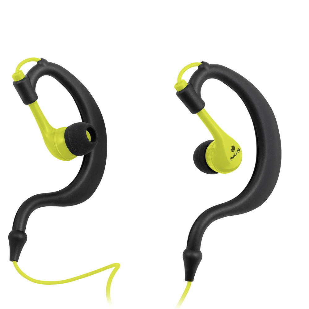 AURICULARES NGS YELLOW TRITON SPORT
