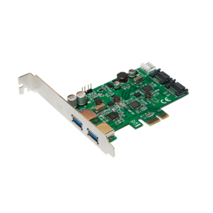 CONTROLADORA MINI-PCIE 2X USB3.0 LOGILINK PC0059A