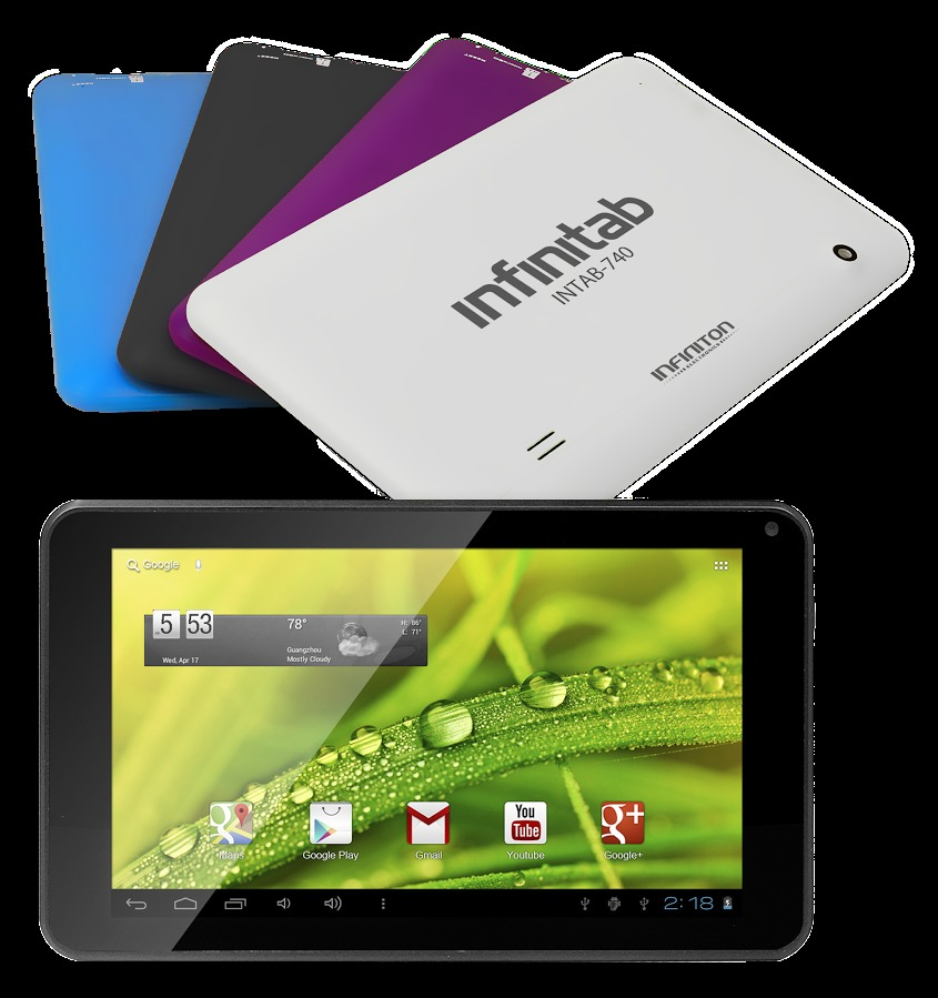 "Tablet 7"" infiniton intab-740 8GB azul"