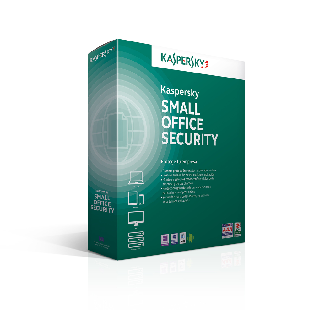 SOFTW KASPERSKY SMALL OFFICE SECURITY 4.0 5U