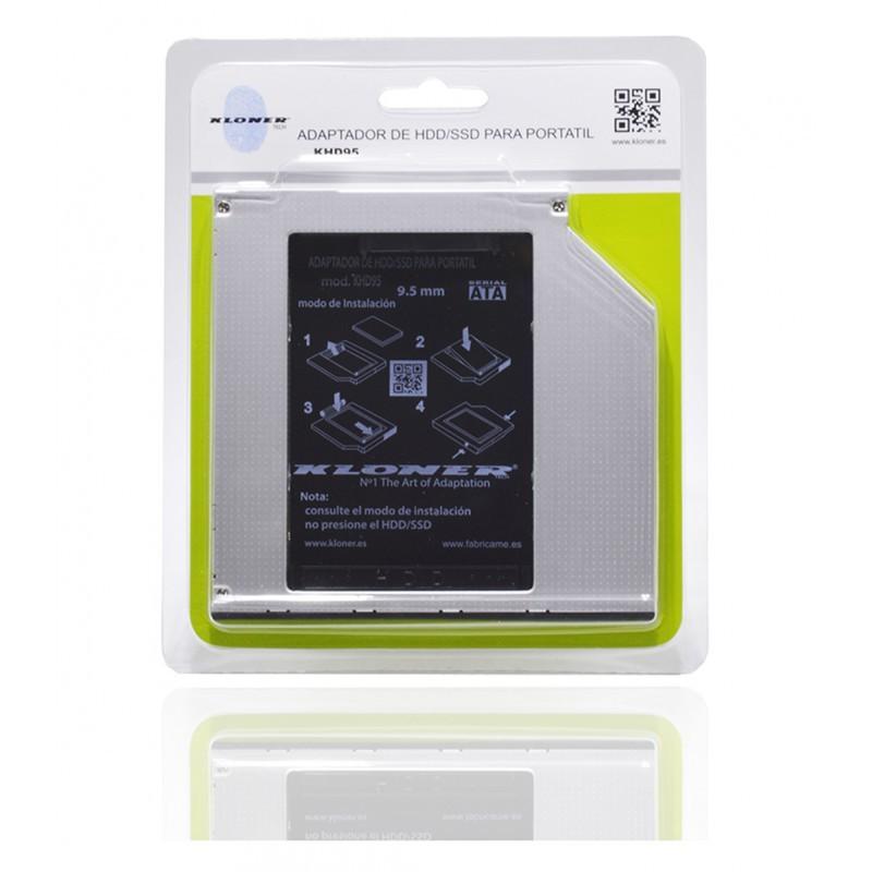 ADAPTADOR BAHIA RW PORTATIL A SSD 2.5 KL-TECH