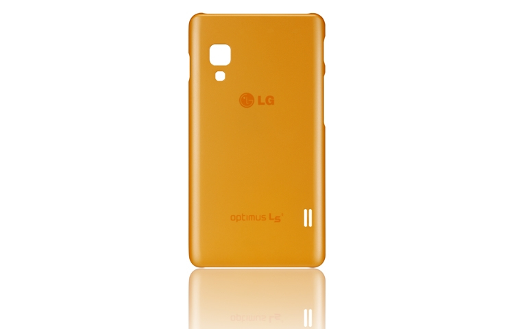 FUNDA MOVIL LG L5 II ULTRA SLIM NARANJA