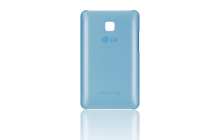 FUNDA MOVIL LG L3 II ULTRA SLIM AZUL